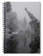 Leaning Tree Spiral Notebook
