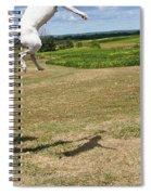 Leap Higher Spiral Notebook