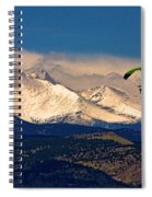 Leap Of Faith Spiral Notebook