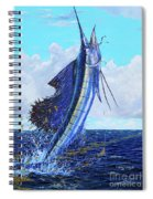 Leap Of Freedom Off0048 Spiral Notebook