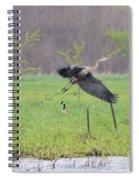 Leaping Flight Spiral Notebook