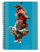 Leaping Into The Air Spiral Notebook