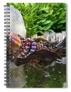 Leaping Koi Spiral Notebook