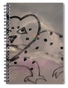 Leaping Leopard Spiral Notebook