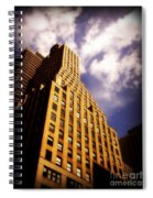 Leaps Tall Buildings With A Single Bound - Skyscraper Spiral Notebook