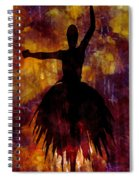 Learning The Steps 3 Spiral Notebook