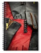Leather Gloves Spiral Notebook