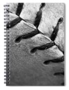 Leather Scars Spiral Notebook