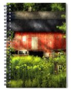 Leave Our Farms Spiral Notebook