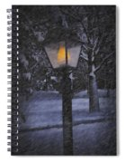 Leave The Light On Spiral Notebook