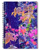 Leaves 1 Spiral Notebook