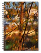 Leaves - Impressions Spiral Notebook