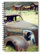 Leaving Bodie Spiral Notebook
