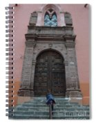 Leaving Church Lighthearted Spiral Notebook