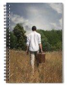 Leaving Spiral Notebook