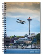 Leaving Seattle Spiral Notebook
