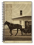 Leaving The Farm Spiral Notebook