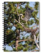 Leaving The Nest Spiral Notebook