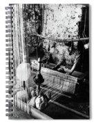 Lebanon Silk Manufacture Spiral Notebook