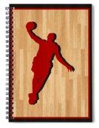 Lebron James Miami Heat Spiral Notebook