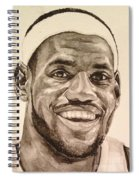 Lebron James Spiral Notebook