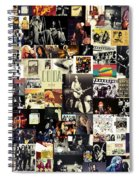 Led Zeppelin Collage Spiral Notebook