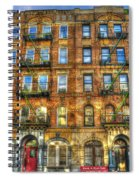 Led Zeppelin Physical Graffiti Building In Color Spiral Notebook