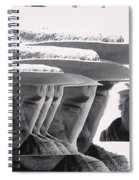 Lee Marvin Monte Walsh Collage Variation 2 Old Tucson Arizona 1969-2012 Spiral Notebook