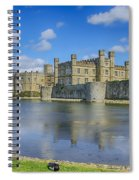 Leeds Castle Moat 2 Spiral Notebook
