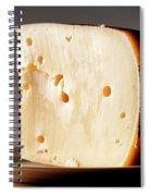 Leerdammer Cheese, Prague, Czech Spiral Notebook