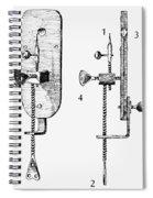 Leeuwenhoek: Microscope Spiral Notebook