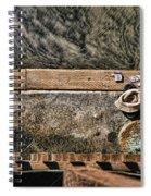 Left Behind By Diana Sainz Spiral Notebook