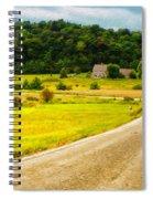 Left Hand Curve Spiral Notebook