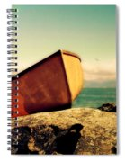 Left High And Dry Spiral Notebook