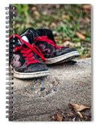 Left On The Curb Spiral Notebook