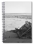 Leftovers From Hurricane Sandy Spiral Notebook