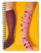 Leg Girls Spiral Notebook