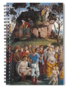 Legacy And Death Of Moses Spiral Notebook