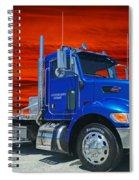 Legendairy Farms Peterbilt Catr3127-12 Spiral Notebook