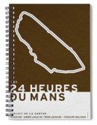 Legendary Races - 1923 24 Heures Du Mans Spiral Notebook