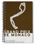 Legendary Races - 1929 Grand Prix De Monaco Spiral Notebook