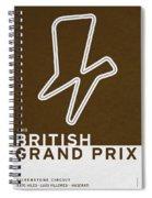 Legendary Races - 1948 British Grand Prix Spiral Notebook