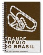 Legendary Races - 1973 Grande Premio Do Brasil Spiral Notebook