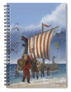 Legendary Viking Spiral Notebook