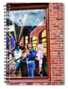 Legends Bar In Downtown Nashville Spiral Notebook