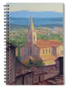 L'eglise Sur La Colline Spiral Notebook