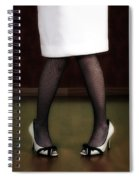 Legs And Shoes Spiral Notebook