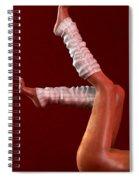 Legs II... Spiral Notebook