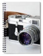 Leica M3 With Leather Strap Spiral Notebook