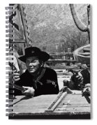 Leif Erickson Cameron Mitchell Mark Slade Attacking Apaches 1 High Chaparral Old Tucson 1969-2009 Spiral Notebook